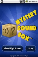 Screenshot of Mystery Sound Box