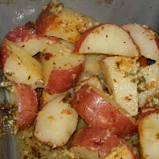 Super Easy Roasted Parsley Red Potatoes