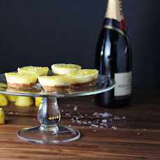 Mini Salted Lemon Cheesecakes