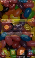 Screenshot of Jelly Bean Theme Live