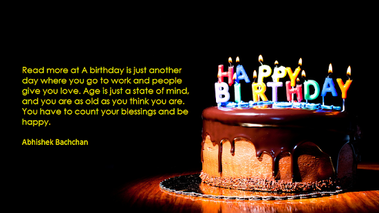 Birthday Frame Quotes - screenshot
