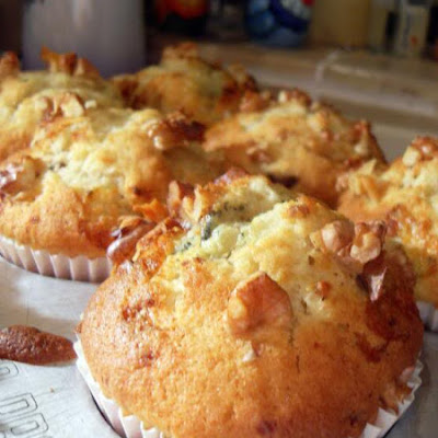 Pear, Date and Stilton Muffins