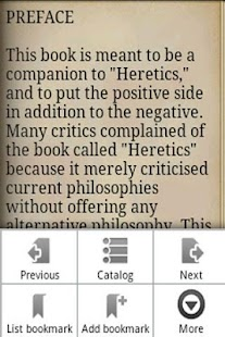 ORTHODOXY - G. K. CHESTERTON - screenshot