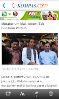 Screenshot of Kompas.com