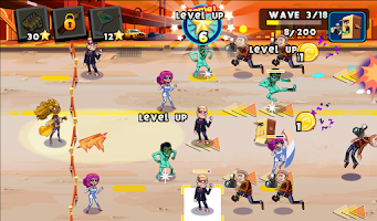 Screenshot of Stars vs. Paparazzi