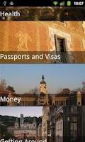 Screenshot of Spain Travel Guide