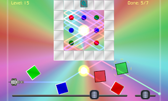 Screenshot of Laser Deflect