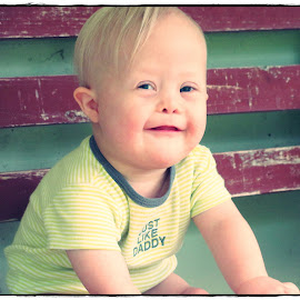 Sweet Elijah by Jessica Schronce - Babies & Children Babies ( sweet, happy, baby, smiles, kid )