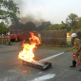 FIRE SAFETY DAY PROGRAMME, by Kanchan Chatterjee - News & Events Business