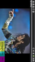 Screenshot of Michael Jackson Gallery