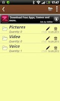 Screenshot of Notepad for Android