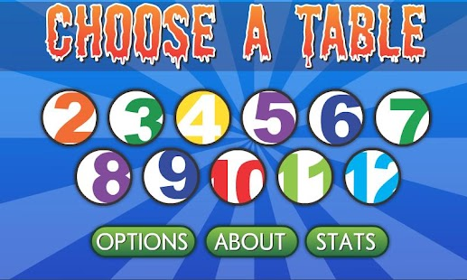 Brainy Monsters Times Tables - screenshot