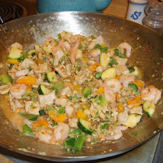 Pork and Prawn Stir-Fry