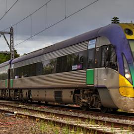 V-Line Vlocity by Peter Keast - Transportation Trains ( diesel, commuter, train, transportation )