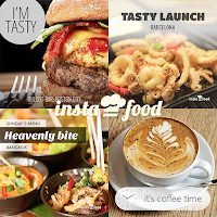 Screenshot of InstaFood