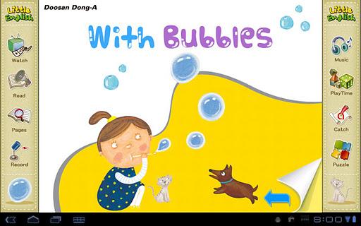 리틀잉글리시-With Bubbles 4세용