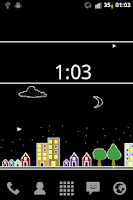 Screenshot of Pixel City Live Wallpaper