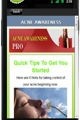 【免費教育App】Acne Awarenes Pro-APP點子