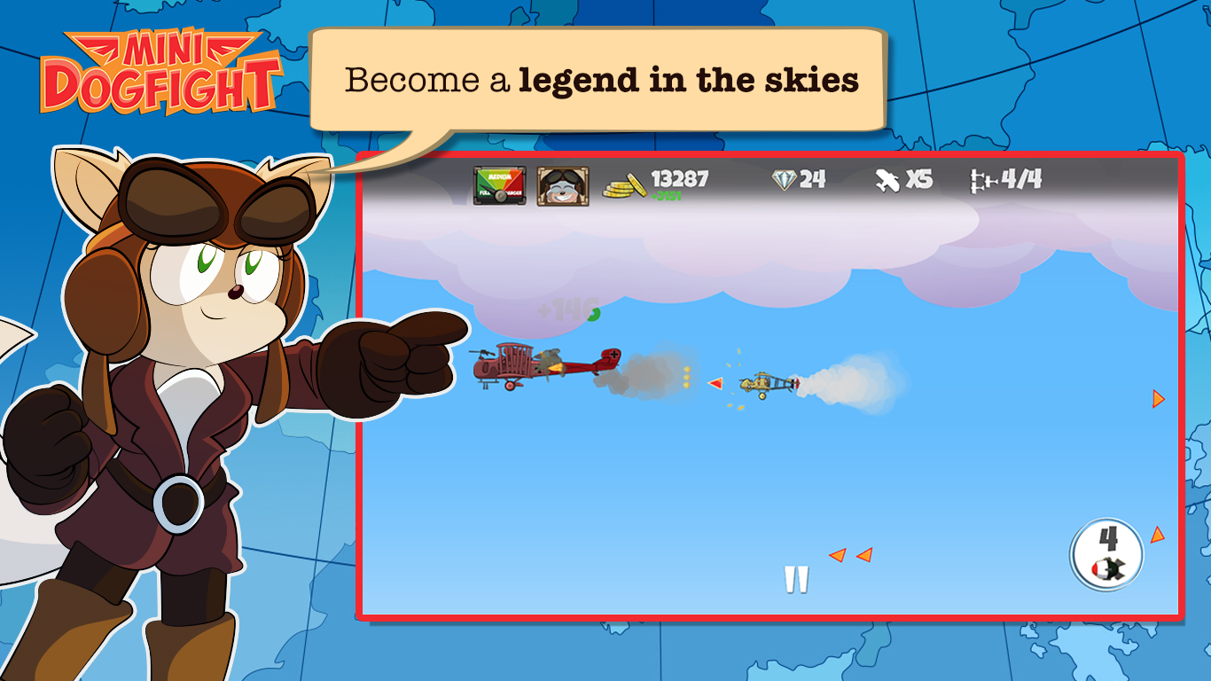 Mini Dogfight Screenshot 2