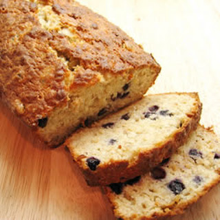 Favorite Banana Blueberry Quick Bread