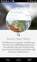 Screenshot of HomeAway VRBO Vacation Rentals