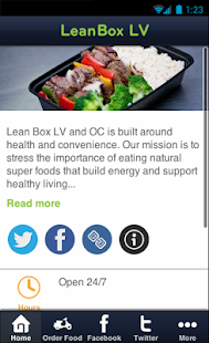 Lean Box LV - screenshot