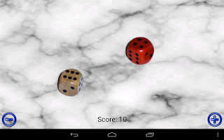 Screenshot of Dice