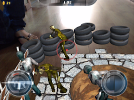 Screenshot of BlastAR Zombies