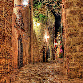 OLD JAFFA by JOel Adolfo - City,  Street & Park  Neighborhoods ( street&park, city )