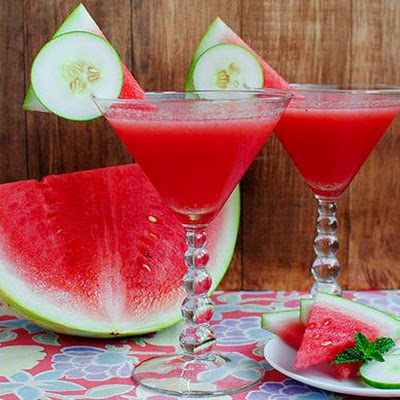 Cucumber Watermelon Martini