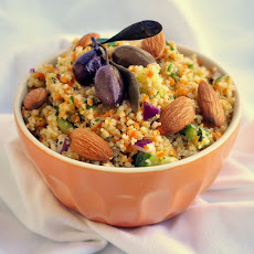 Lemon Cucumber Couscous Salad