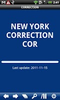 Screenshot of New York State Correction Law