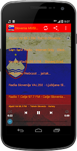 Slovenia MUSIC Radio - screenshot