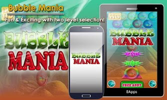 Screenshot of Bubble Mania