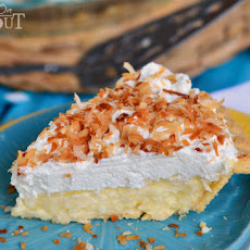 Dad's Coconut Cream Pie