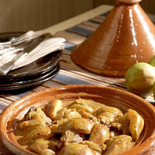 Tagine of Lamb and Pear