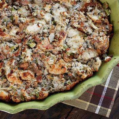 Chicken Sausage and Herb Stuffing