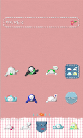 Screenshot of Pocket-size Dolls dodol theme