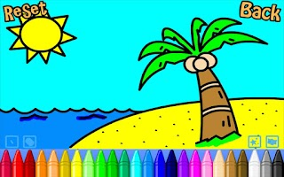 Screenshot of Simply Kids Colouring Free