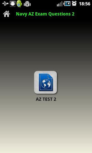 Navy AZ Exam Questions 2