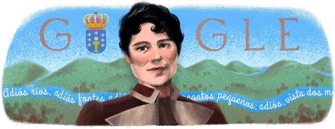 178 aniversario del nacimiento de Rosalía de Castro