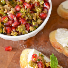 Pomegranate Olive Relish