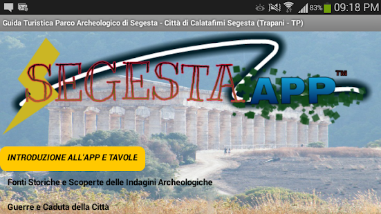 Segesta APP - ITA - screenshot