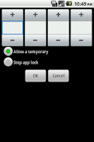 Screenshot of Shake AppLock