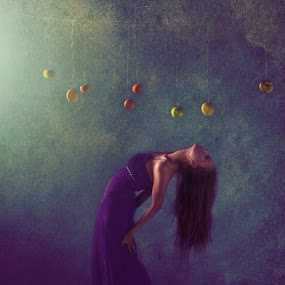 forbidden fruits by Yuni Herawati - Uncategorized All Uncategorized ( woman, mood, misty )