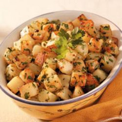 Cilantro Potatoes