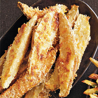 Parmesan-Coated Potato Wedges