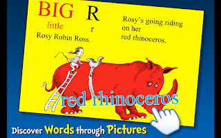 Screenshot of Dr. Seuss's ABC