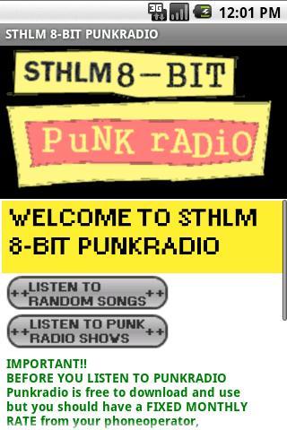 Sthlm 8-bit punkradio