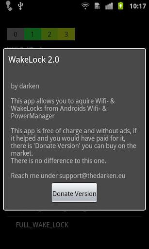 Wake Lock - PowerManager